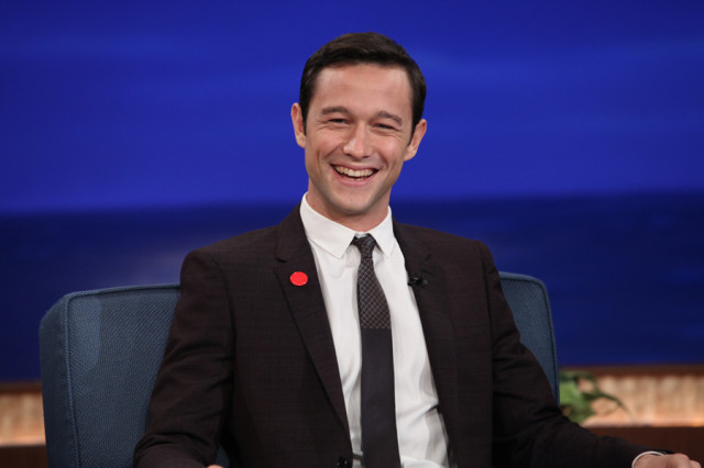 Joseph Gordon-Levitt on Conan in 2012