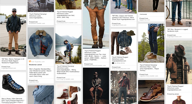 Trig and polished rugged on pinterest