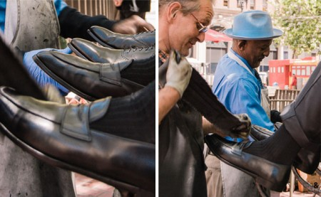 trigandpolished famous wayne shoe shine