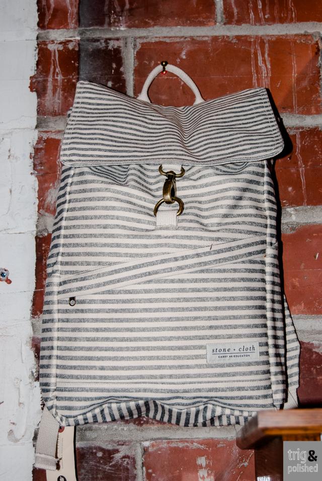 Stone + Cloth Knapsack