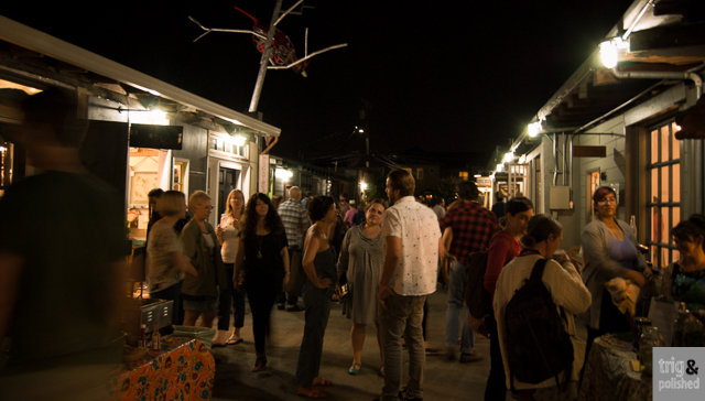 First Fridays in Temescal Alley